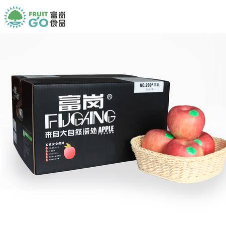 富岗特产正宗新鲜红富士苹果果园水果富士带皮吃包邮16枚装约11斤