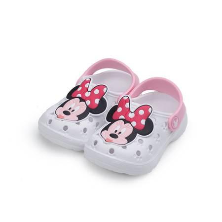迪士尼(Disney)可爱米妮卡通防滑EVA小童儿童花园鞋洞洞鞋 ME15277 紫色