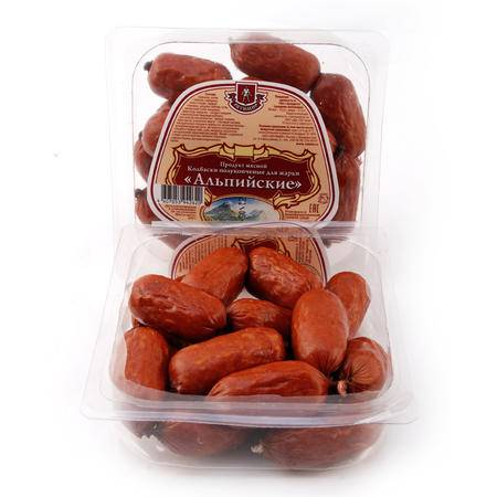 米格士 俄罗斯原装进口新品 纯肉肠 火腿肠 俄式小香肠 正品
