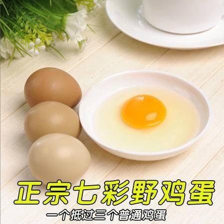 沭阳特产沂河湿地野鸡蛋七彩山鸡蛋32枚装