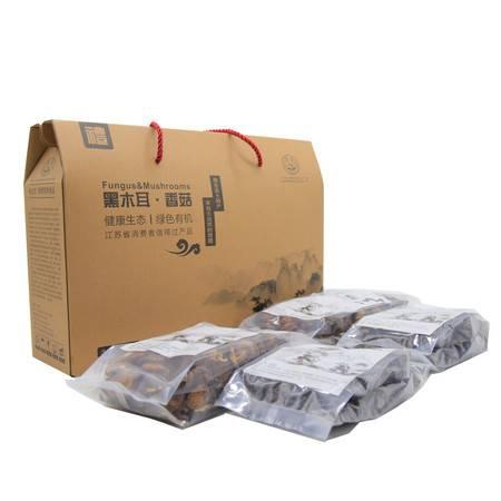 沭阳土特产 苏合农产品干货礼包黑木耳 香菇(全国包邮)