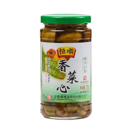 恒顺香菜芯375g 酱莴苣江苏镇江特产 下饭小菜 腌制泡菜 酱菜榨菜