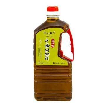 中岭村初榨菜籽油 1000ML瓶