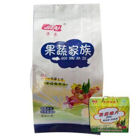 集泰综合果蔬脆片500g