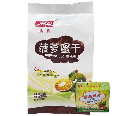 集泰菠萝蜜脆片500g