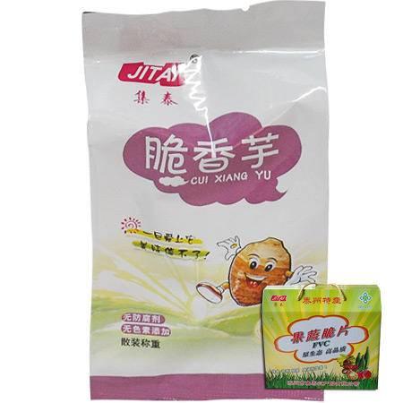 集泰香芋脆片500g