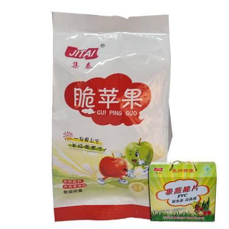 集泰苹果脆片500g