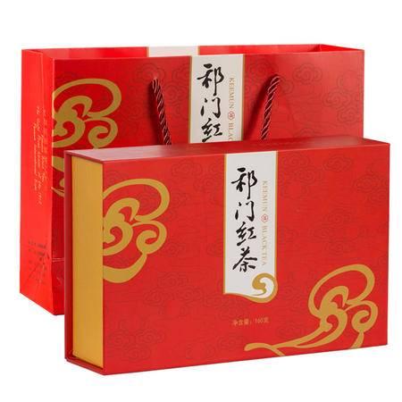 祁门红茶 正宗祁门原产地一级祁门红茶礼盒红碎茶 160g包邮