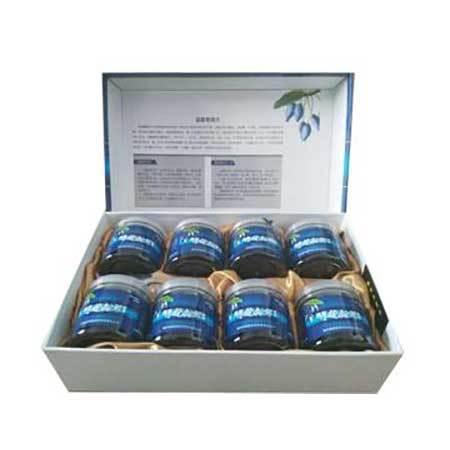 七台河蓝靛果鲜果200gX8瓶 盒装 全国包邮(新、青、藏除外