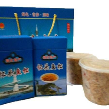 同江味道怀头鱼松500g/盒,简装全国包邮