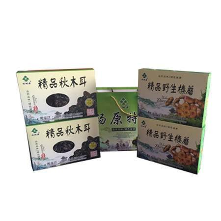 汤原味道松树源大亮子河山产礼盒包装/250克*4盒全国包邮(新疆青海西藏除外)