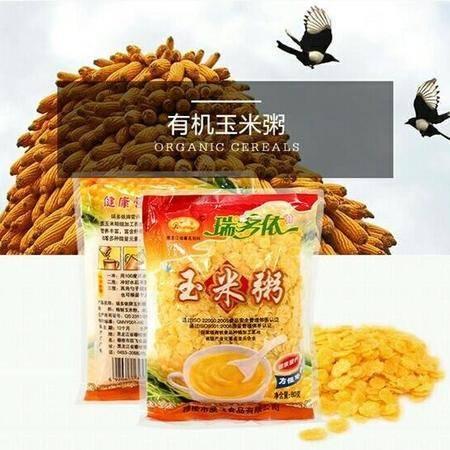 穆棱速食玉米粥玉米片80g×4袋(全国包邮)