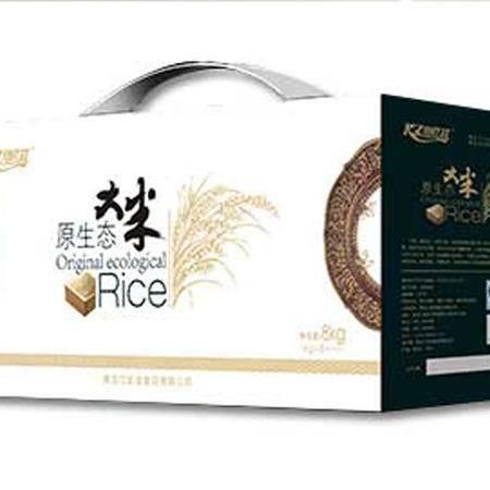 同江味道凯滋圆粒大米8盒/箱共8kg,全国包邮(新疆青海西藏除外)