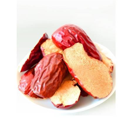 【邮乐河南】四月小铺 红枣片500g 红枣干零食 脆 若羌无核枣干酥脆枣泡茶