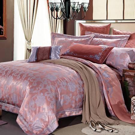 CASABLANCA/卡撒天娇家纺时尚宫廷风欧式六件套提花床上六件套