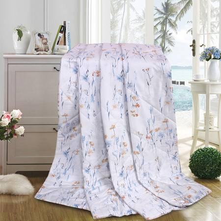 卡撒天娇印花空调被纤维被四季薄被活套经典舒适夏凉被包邮