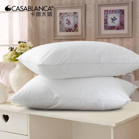 卡撒天娇甜梦枕芯枕头成人可水洗睡眠枕芯舒适纤维枕软枕头包邮