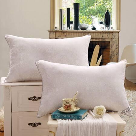 欧派家纺(OPAR)48*74cm 长形枕头 单人枕头 舒适高弹枕芯