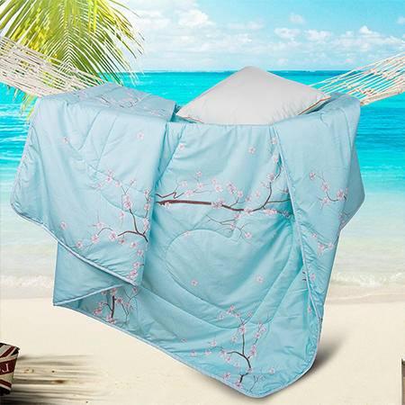 欧派(OPAR)200*230cm 可水洗夏凉被 空调被 夏天薄被子 单双人夏被 儿童学生夏被 樱花