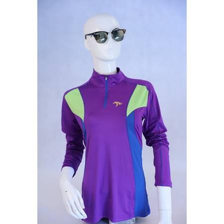 【四平馆】鞍马步落 T恤(女)AMXJ0005 紫(蓝、绿)