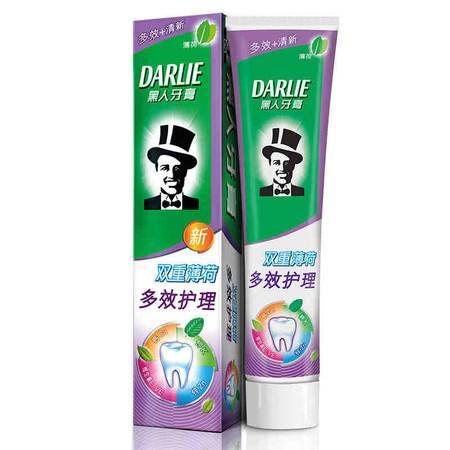 黑人(DARLIE)双重薄荷多效护理牙膏 180g