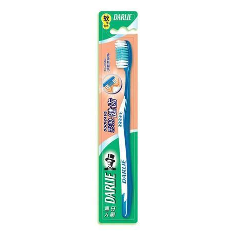 黑人(DARLIE) 彩浪健齿牙刷