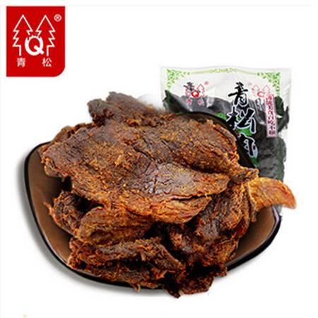 青松肉干正宗肉食手撕肉干零食小吃肉XO酱