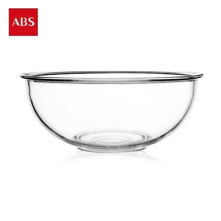 ABS爱彼此 Gladys耐热高硼硅加厚玻璃碗