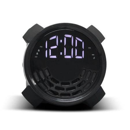 【Ohayo/雷登】 RT4501数字收音机床头灯闹钟FM全波段显示钟控收音机