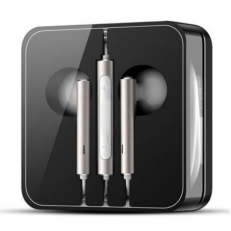 【华为HUAWEI】华为原装线控耳塞式通话耳机 荣耀6 PLUS 荣耀7平板通用入耳式 AM116