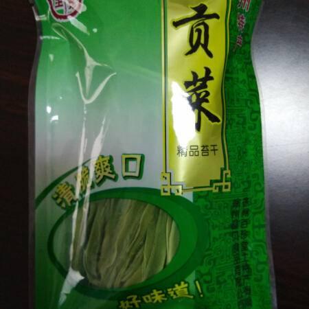 晶贝贡菜苔干(无叶有盒)100G