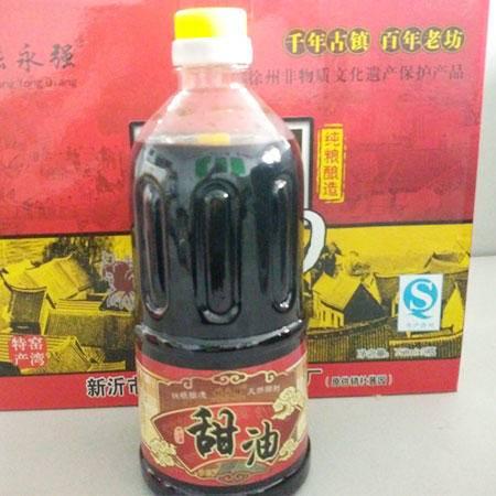 张永强纯良酿造甜油(透明装)