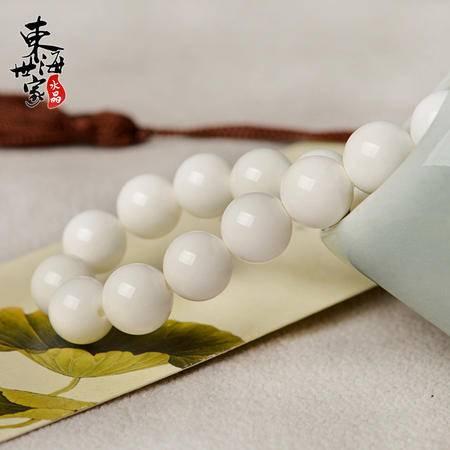 东海世家白砗磲手链(全珠款,约10mm)手串水晶男女