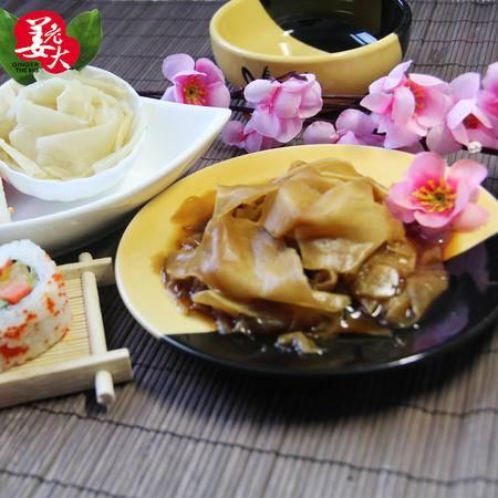 姜老大 咸香酱油日式料理嫩姜片零食驱寒醋泡生姜 姜干 165g