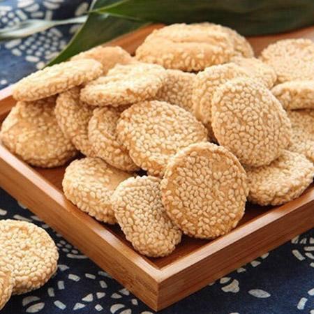 南通特产礼盒(脆饼、麻饼、麻糕、麻圆、京枣、桃酥、麻切、爽口酥)