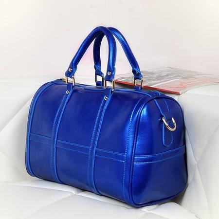 欧美潮流新款品牌牛皮包手提单肩女士包包 斜跨真皮女包