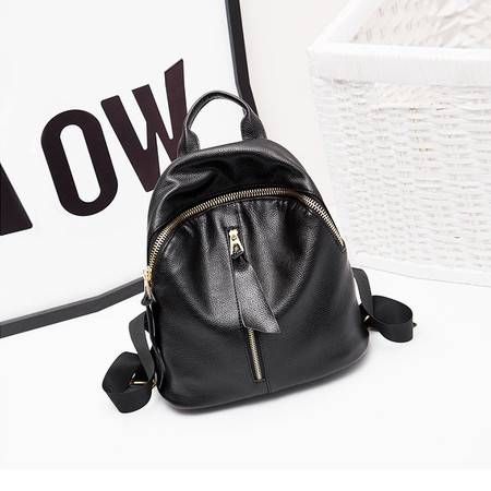 包邮 嘉诗纳真皮双肩包女士牛皮2016新款旅行背包大容量韩版时尚潮女式书包包