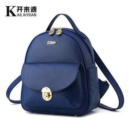 包邮 淑女芭莎 双肩包 女包新款韩版时尚女士包包学院风背包可爱休闲书包ZZMY背包