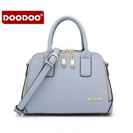 包邮 DOODOO包包2016新款手提包女小包单肩女包女士包包大容量斜跨包潮