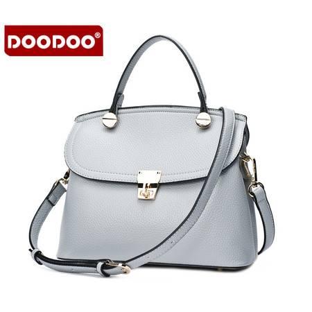 包邮 DOODOO2016新款休闲包手提单肩斜挎小包时尚韩版女士包包