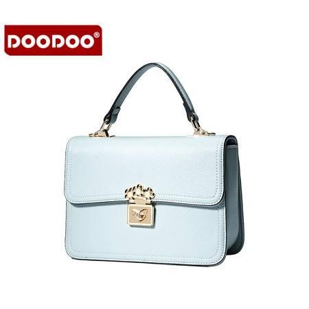 包邮 DOODOO2016年夏季新款女包小方包韩版时尚休闲单肩斜挎手提包包