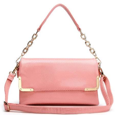 包邮 DOODOO包包2015新款时尚韩版女式包单肩斜挎包小包链条小包真皮质感大牌