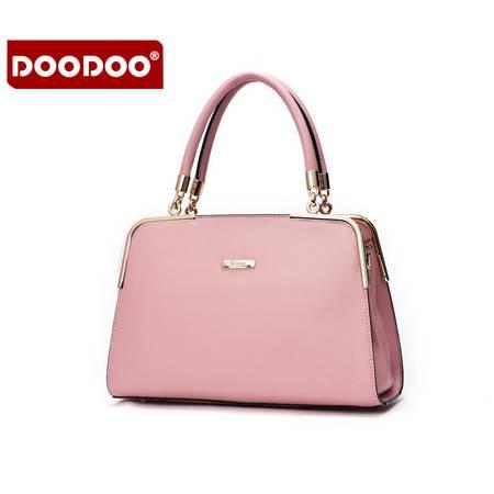 包邮 DOODOO女包2016新款冬季韩版手提单肩斜挎简约大包百搭女士包包潮