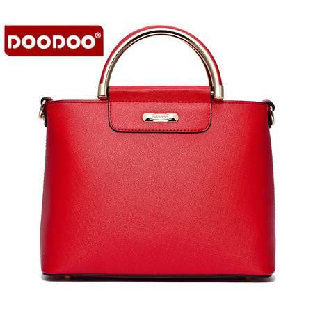包邮 DOODOO包包2016新款斜挎包手提包韩版单肩女包秋冬百搭女士包包