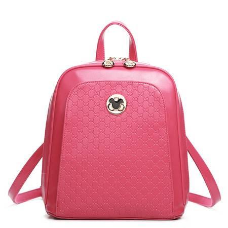 包邮 DOODOO冬季款韩版潮米奇背包时尚可爱双肩包女休闲女包背包小包