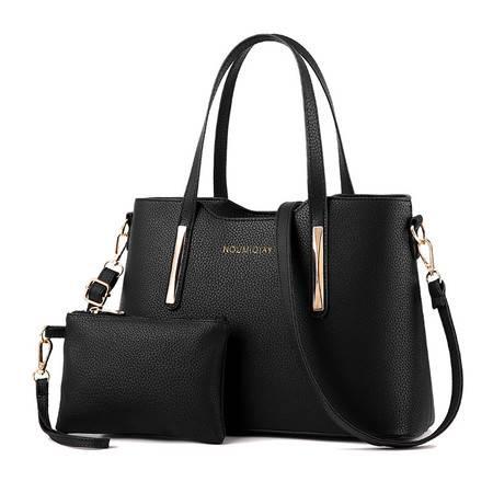 包邮 淑女芭莎 包包女士2016新款女包爆款时尚女包包斜挎单肩手提包 nou两件套