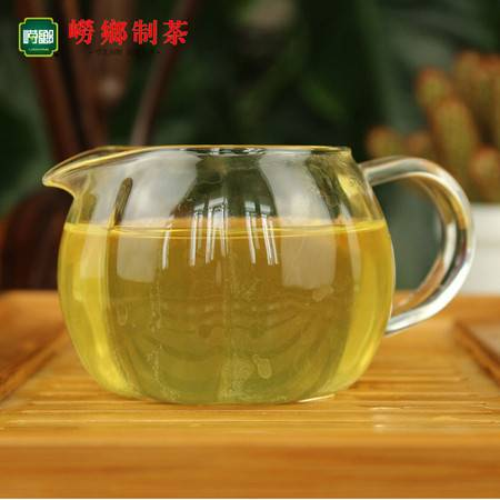 崂乡 买1送1 买2送3 崂乡绿茶 月红筒100g 一级崂山绿茶 2016新茶