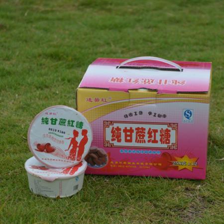 米易红糖纯甘蔗红糖礼品盒,红糖包邮,一提12个