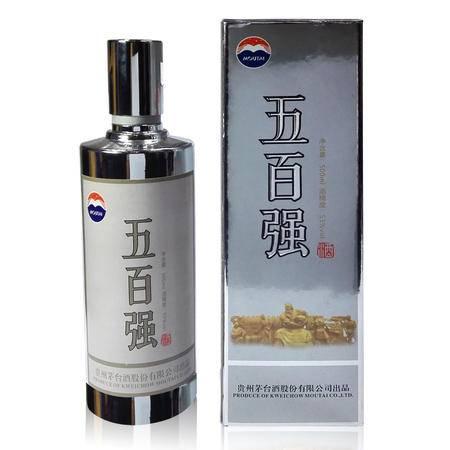 五百强 茅台500强酱香酒 500MLX1瓶 (银质)