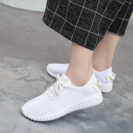 RA透气韩版一脚蹬懒人鞋女鞋软底椰子鞋百搭运动休闲女学生跑步鞋